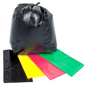 Black Polythene Refuse  Bags