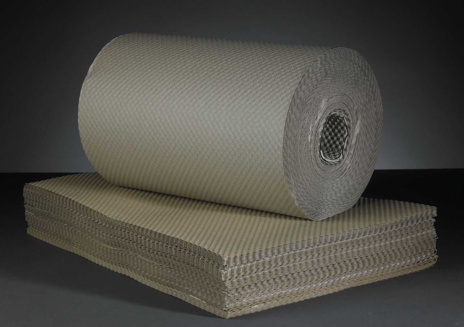 Embossed Straw Paper