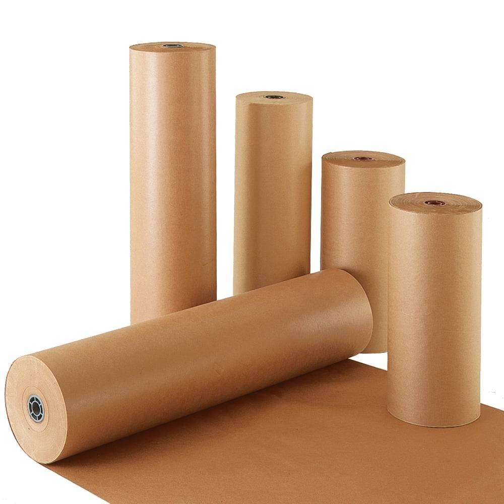 Kraft Paper Rolls - Pure Ribbed