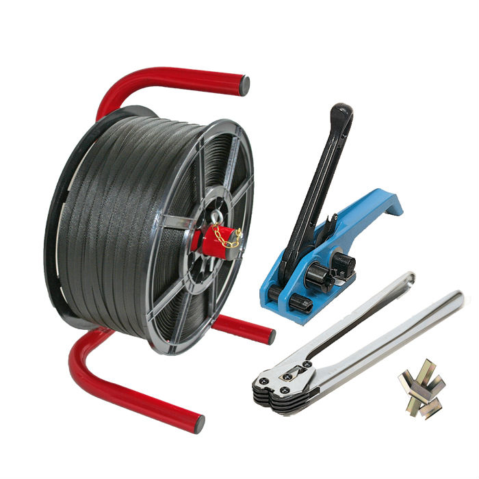 polypropylene strapping kit and tools