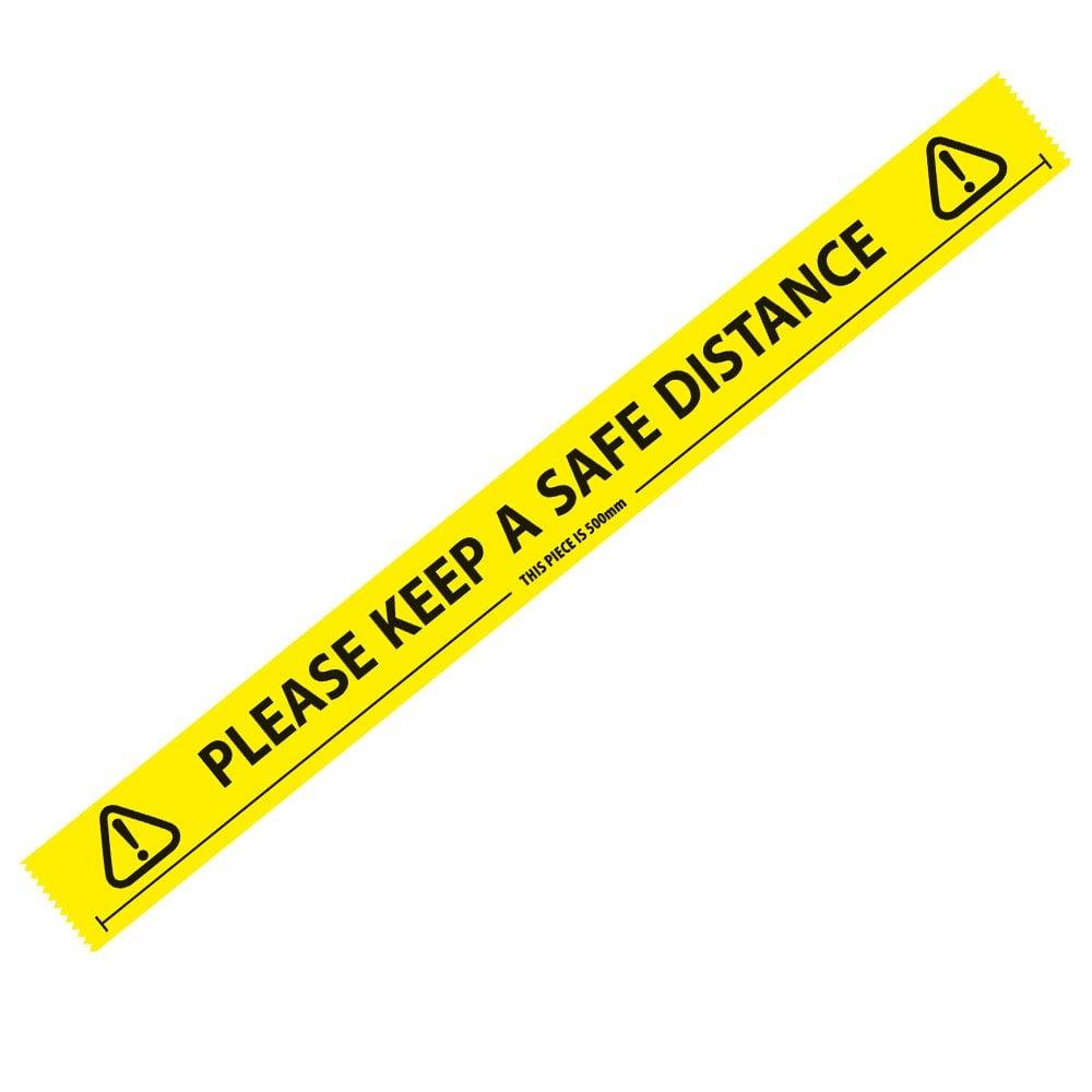 Safe Distance Tape